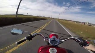 7. 2009 Yamaha V star 1300 test Drive