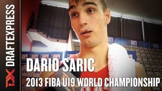 Dario Saric - 2013 FIBA U19 World Championship - Interview