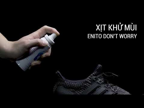 Review xịt khử mùi giày Enito Don't Worry