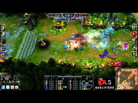 Dignitas vs MyFirstTime - Game 1 - IPL5 NA Qualifier - League of Legends