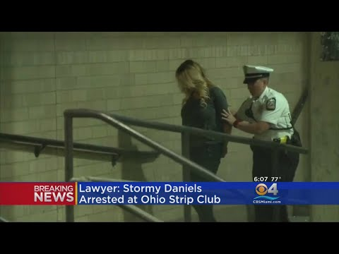 Stormy Daniels Arrested In Ohio