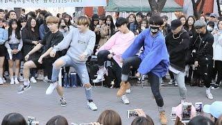 "Download Lagu DOB(디오비): BTS(방탄소년단) ""I NEED U"" 안무(Dance) 홍대버스킹 Mp3"