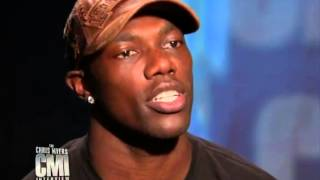 Chris Myers interviews Terrell Owens on CMI