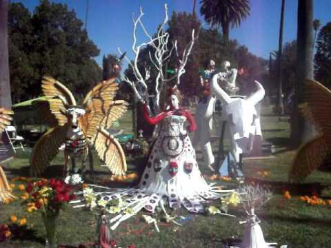 Living Art Alter - Dia de Los Muertos at Hollywood Forever Cemetery