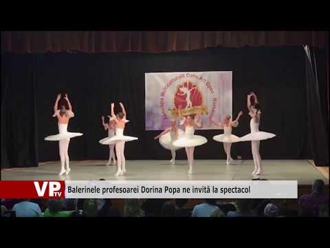 Balerinele profesoarei Dorina Popa ne invită la spectacol