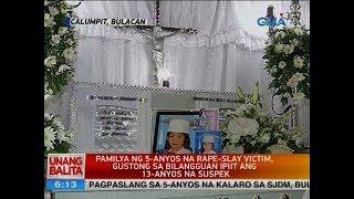 Unang Balita is the news segment of GMA Network's daily morning program, Unang Hirit. It's anchored by Rhea Santos and Arnold Clavio, and airs on GMA-7 Mondays to Fridays at 5:15 AM (PHL Time). For more videos from Unang Balita, visit http://www.gmanetwork.com/unangbalita.Subscribe to the GMA News and Public Affairs channel: https://www.youtube.com/user/gmanewsVisit the GMA News and Public Affairs Portal: http://www.gmanews.tvConnect with us on:Facebook: http://www.facebook.com/gmanewsTwitter: http://www.twitter.com/gmanews