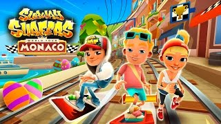 Join the Subway Surfers World Tour in Monaco! Download for free on Android, iOS, Windows 10 and Kindle Fire right here: http://bit.ly/SubSurfFBSubway Surfers World Tour - Monaco:★ The Subway Surfers are traveling to Monaco★ Experience a prestigious car race and explore the yacht-lined harbor★ Team up with Philip the philanthropist and unlock his Racer Outfit★ Unlock the extra-fast Speeder board to blast through the famous race tracks★ Find all the hidden eggs on the Easter-decorated tracks to earn Weekly Hunt prizesDownload for FREE on:Android:http://bit.ly/SubSurf_GooglePlayiOS:http://bit.ly/SubSurf_AppStoreWindows 10:http://bit.ly/SubSurf_WPstoreKindle Fire:http://bit.ly/SubSurf_Amazon