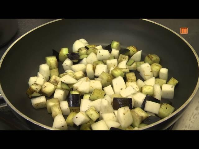 Bulgur - Spinat Salat mit Wasabi Dressing