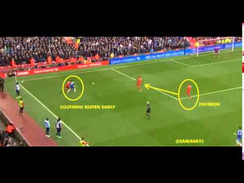 Diego Costa Goal Vs Liverpool 2014 (Player Positions)