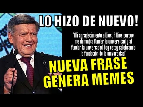 Frases - NUEVA FRASE DE CESAR ACUÑA GENERA LOS MAS DIVERTIDOS MEMES
