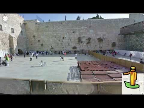 Image of Discover Jerusalem, Tel Aviv-Jaffa and Haifa (Israel) on Google Maps with Street View