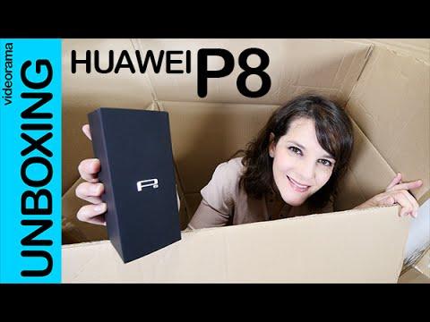Huawei P8 unboxing en español