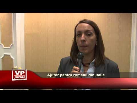 Ajutor pentru romanii din Italia