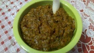 Poondu chutney or garlic chutney