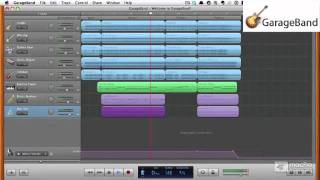 Garageband '11 101 YouTube video
