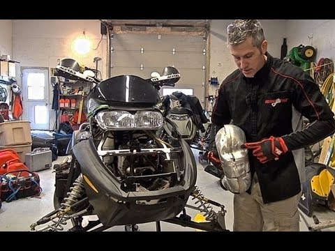Ski doo Rev Mod 700 build, episode #1, the tear down!!!    PowerModz!