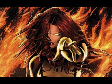 Jean Grey Dark Phoenix - The Fire Inside