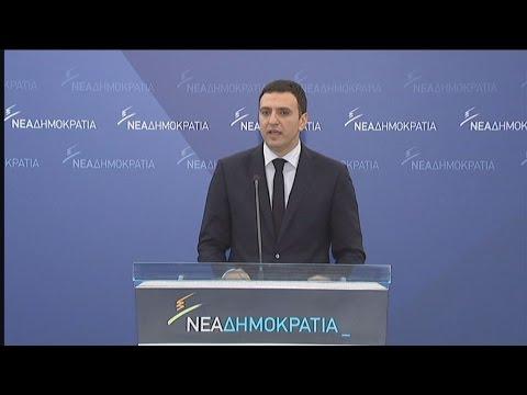 Β. Κικίλιας: Αν δεν μπορεί να κυβερνήσει ο κ. Τσίπρας, ας παραιτηθεί