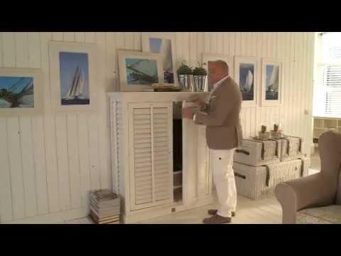 Советы по декору от Нико Тайсена. Декор из зеркал и фоторамок. (видео)