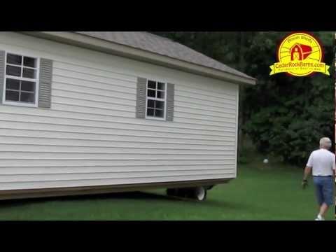 14' x 28' Garage Delivery - Portable Storage Building P.1