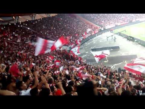 Estudiantes 3 Gimnasia 0 , increíble hinchada - Los Leales - Estudiantes de La Plata