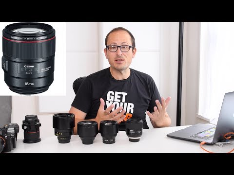 Canon 85mm F1.4L m100 & 3 new tilt shift lenses