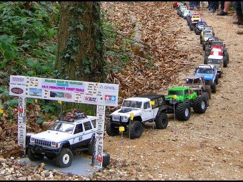 RC CRAWLERS HILL CLIMB AT PUDDLETOWN FOREST PART 2