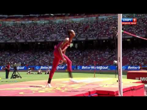 2.29 Mutas Essa Barshim HIGH JUMP WORLD CHAMIONSHIP Beijing 2015 qualification man
