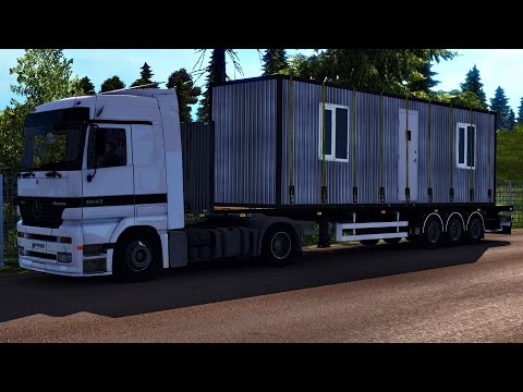 Flatbed Trailer & Cargo Pack