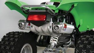 3. Kawasaki KFX 700  Exhausts review
