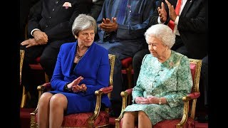 Video The Queen, Theresa May and Prince Charles address Commonwealth leaders - 5 News MP3, 3GP, MP4, WEBM, AVI, FLV Mei 2018