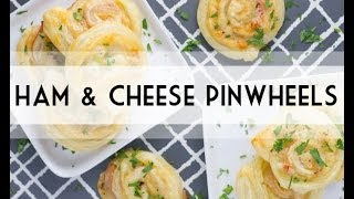 Ham&Cheese Pinwheels | Easy Appetizer | Lunch Recipe Idea | Total Noms