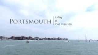 Portsmouth United Kingdom  city pictures gallery : Portsmouth Video - a day in four minutes