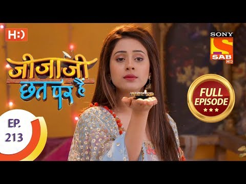 Jijaji Chhat Per Hai - Ep 213 - Full Episode - 30th October, 2018