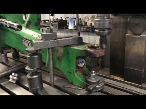 Reparatie axa fata tractor John Deere