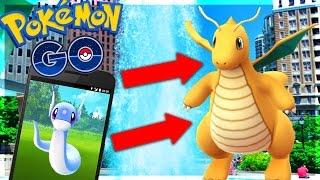 Pokemon GO LETS PLAY! Episode 5 - FAST & EASY XP TRICKS! TIPS!  DRATINI CITY HUNT!