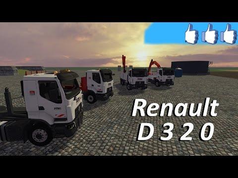 Pack Renault D 320 porteur V1