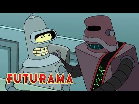 FUTURAMA | Season 1, Episode 5: Trial And Error Message | SYFY
