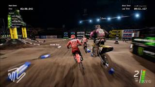 Monster Energy Supercross - Anaheim 2 (Angel Stadium 2) - Gameplay (PC HD) [1080p60FPS]