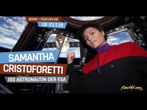 FedCon 27: Samantha Christoforetti (ESA)
