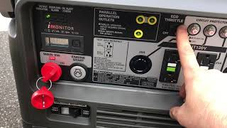 2. Honda eu7000is inverter generator delivery experience from electric generators direct.com / unboxing