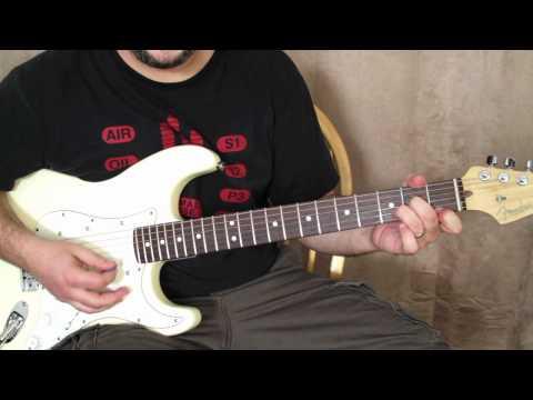 "How to Play ""Pretty Woman"" on guitar – guitar lessons – roy orbison, van halen fender strat"