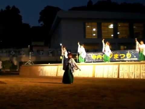 20160709:チームわげもん:寺内小学校七夕:ヤートセ