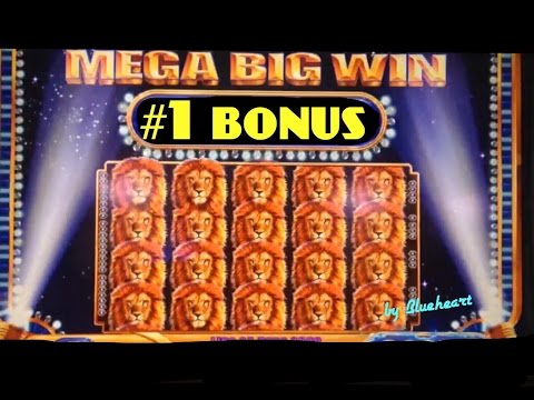KING OF AFRICA slot machine BONUS BIG WINS (2 videos)