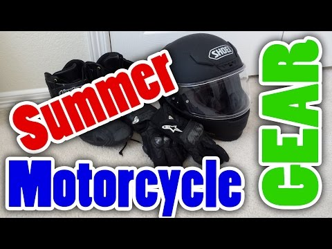 BEST SUMMER MOTORCYCLE GEAR!