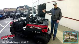1. 2018 Polaris Ranger 150 EFI - Carns Equipment - Clearfield, PA