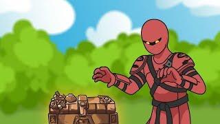 Fortnite Animation #35: Buried Treasure in Season 8 (Parody)
