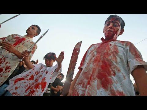 Shiiten feiern im Irak das Aschura-Fest (Gedenken der ...