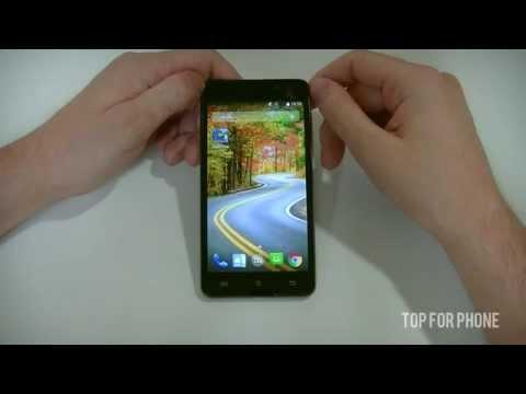 ARCHOS 50 OXYGEN+ - test par Top-For-Phone.fr