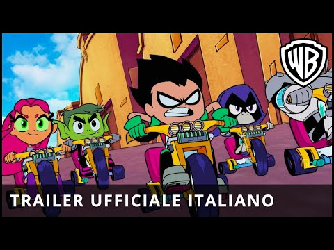 Preview Trailer Teen Titans GO! Il Film, trailer italiano ufficiale